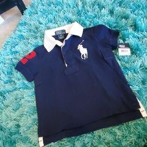 nwt boys 2t polo Ralph Lauren Preston's polo shirt